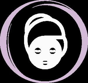 ícone Serviço Estética Facial - Salão de Beleza - Beleza & Art